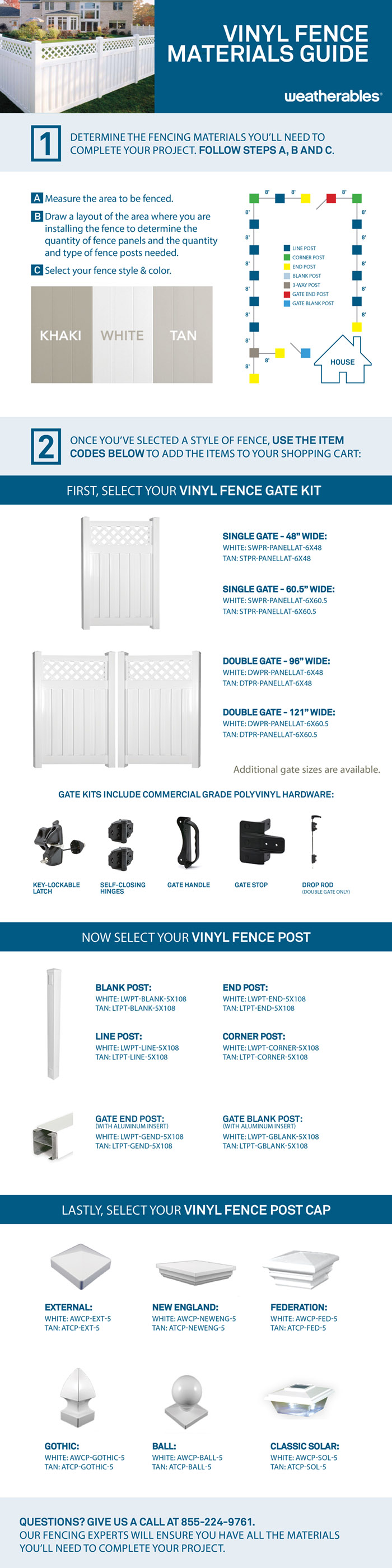 Weatherables clearwater 6 ft x 6 ft white vinyl privacy fence can be installed to withstand wind gusts up to 130 mph baanklon Image collections