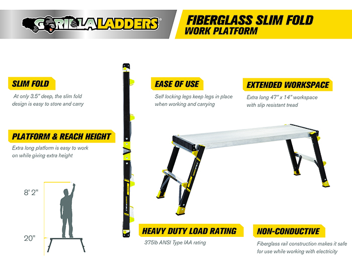 Work Platform Ladder On Shoppinder