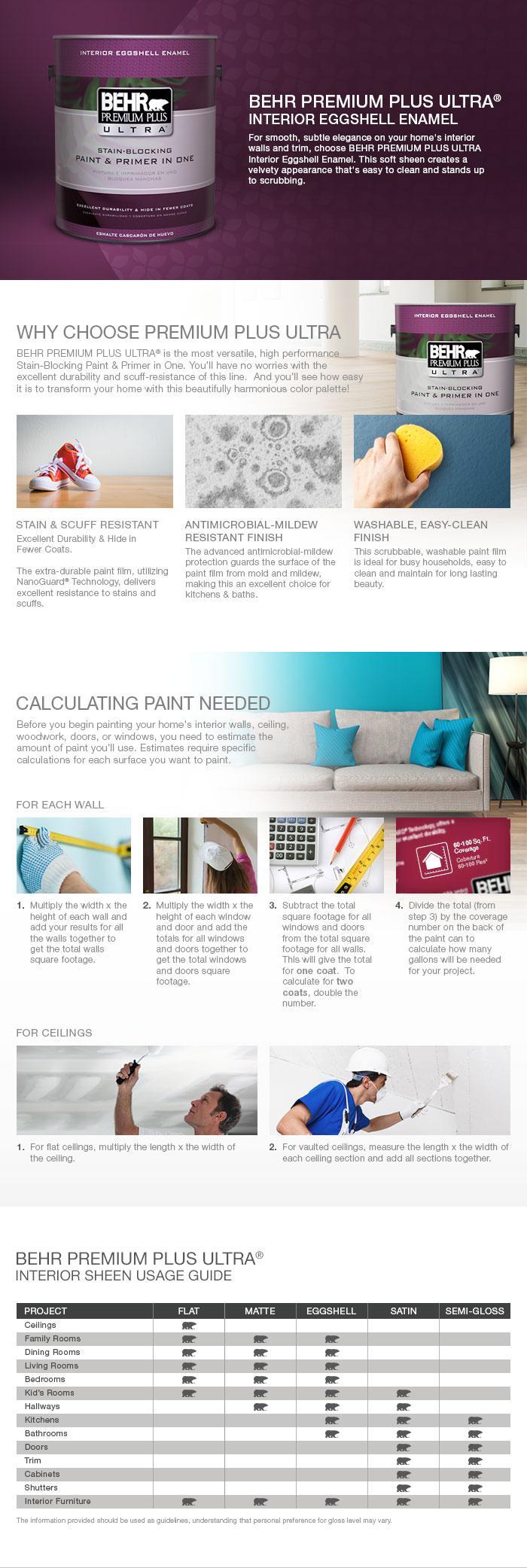 Behr premium plus ultra 8 oz ul260 8 perfect taupe interior exterior - Product Overview Behr Premium Plus Ultra Interior