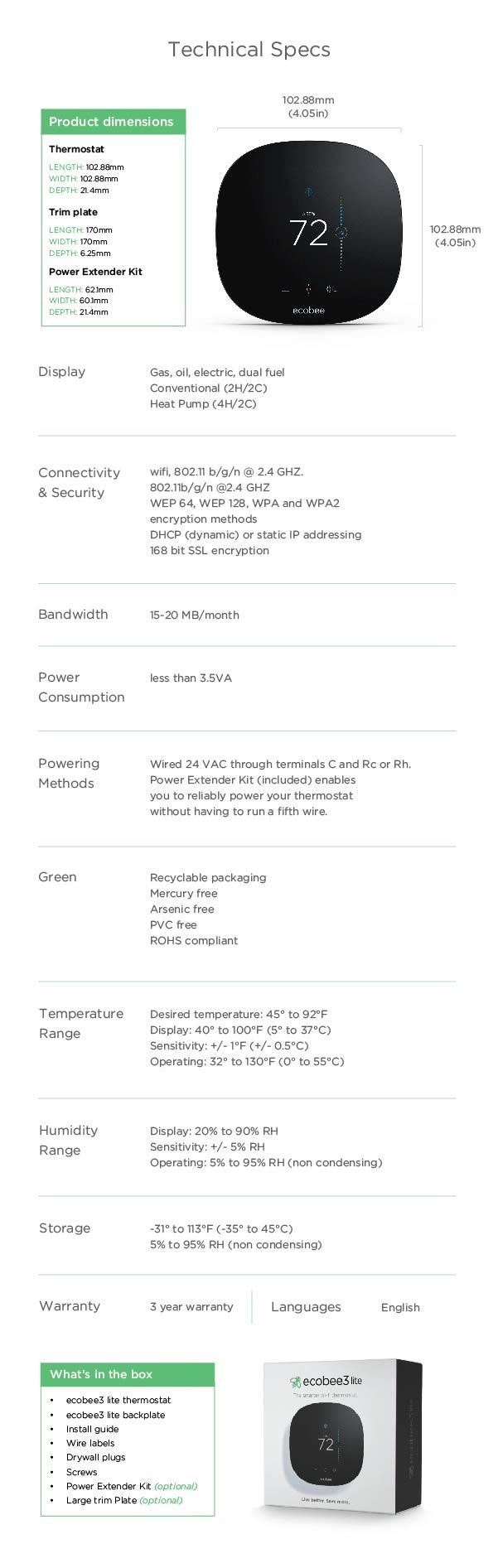 Ecobee Lite Smarter Wi-fi Thermostat-eb-state3l-01