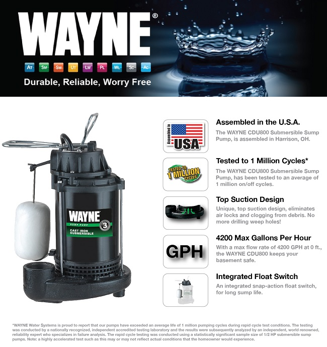 product overview - Watchdog Sump Pump