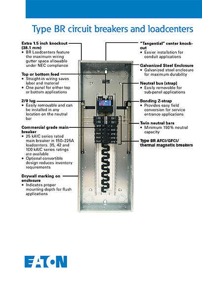 eaton 80 amp double pole type br breaker br280 the home depot info guides installation guide · warranty