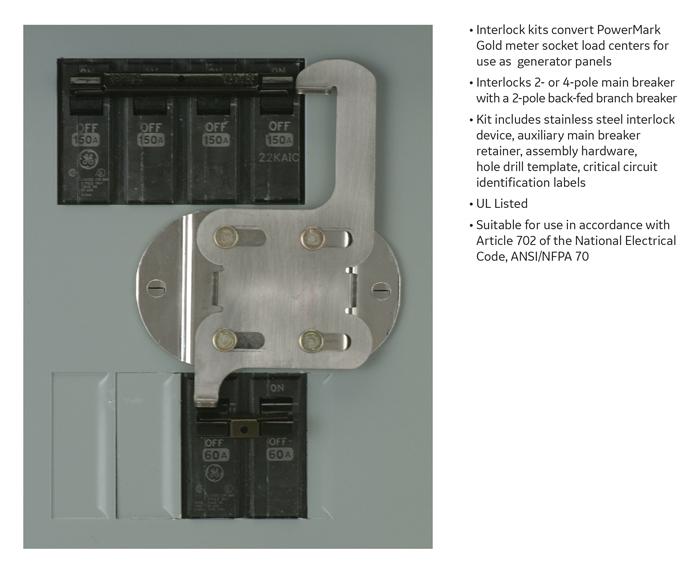 ge powermark gold load center generator interlock kit thqllx1 info guides