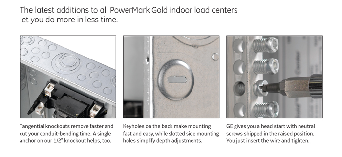 ge powermark gold 125 amp 4 space 8 circuit single phase indoor click here for more information on electronic recycling programs