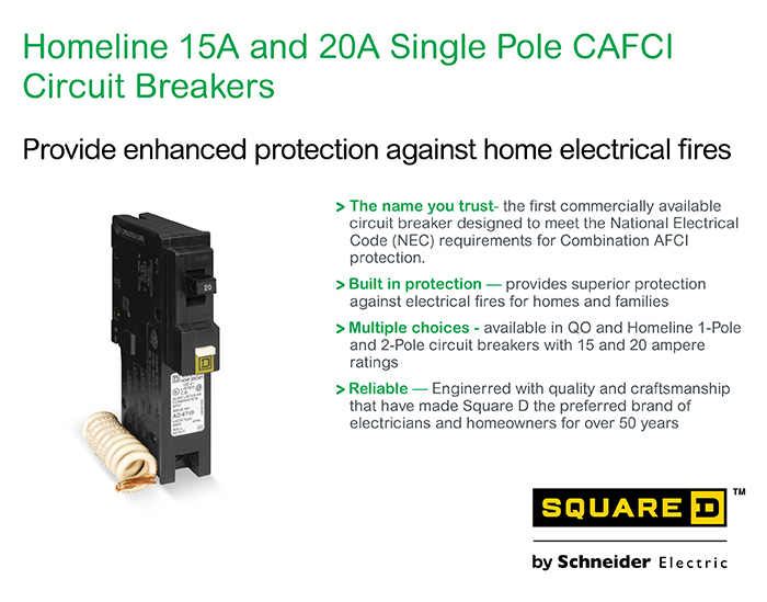 Square D Homeline 15 Amp Single Manual Guide