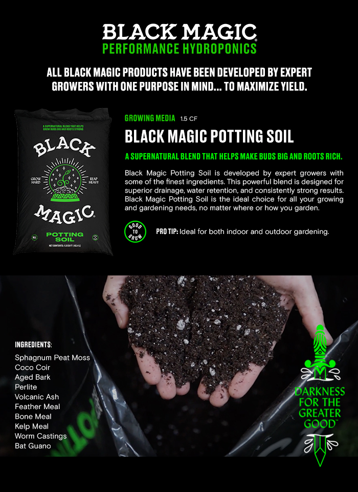 Black Magic 15 cu ft Potting Soil 1010172403 The Home Depot