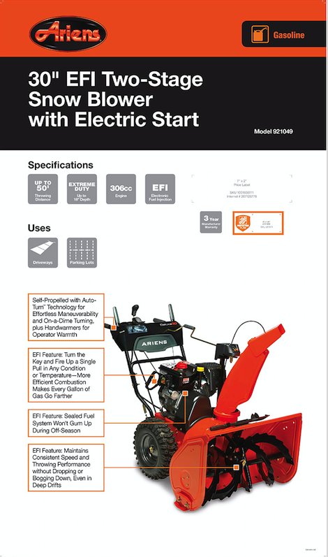 Ariens Ax Engine Service Manual