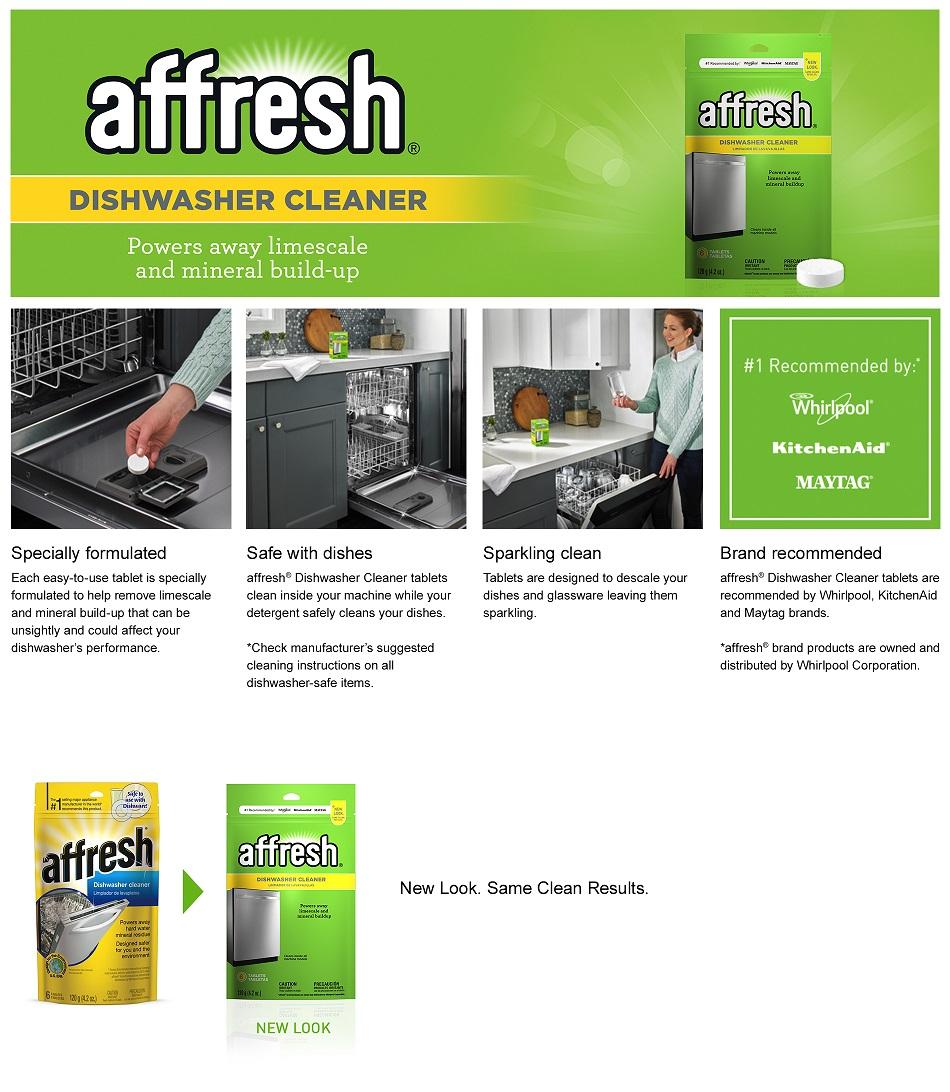 Dishwasher Brands Affresh Dishwasher Cleaner W10282479 The Home Depot