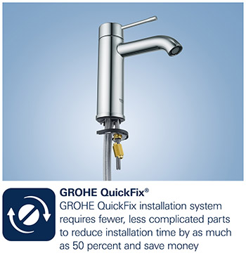 grohe silkmove grohe quickfix