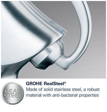 grohe quickfix grohe realsteel