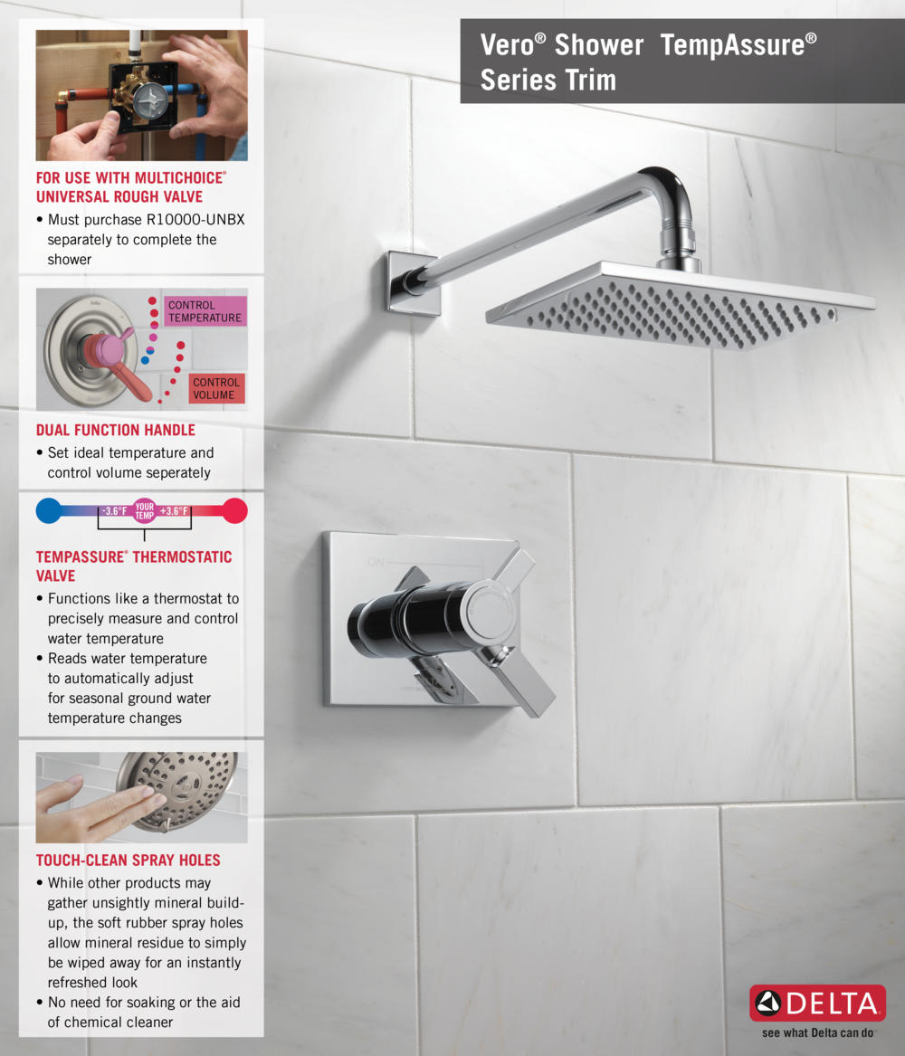 Home Depot Faucet T17T253 T17T Shower Infographic