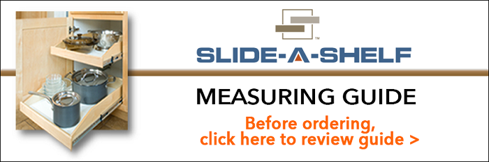 Slide-a-Shelf Measuring Guide
