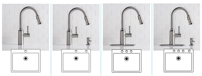 Moen Kitchen Faucets White moen glenshire single-handle pull-down sprayer kitchen faucet with
