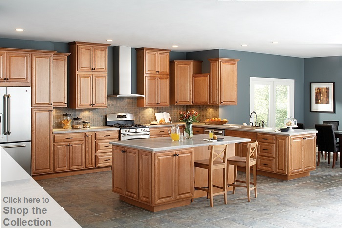 hampton bay cambria assembled 30x30x12 in. wall kitchen cabinet in