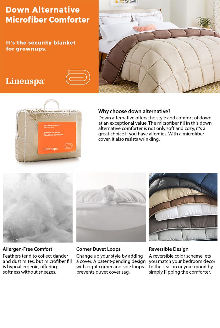 Home Design Down Alternative Comforter. Luxury Midweight Down ...