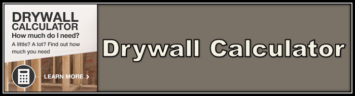 Drywall calculator button