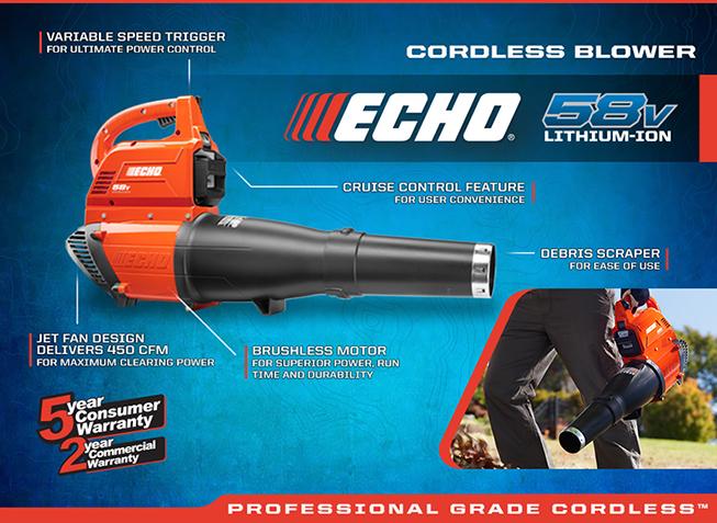 ECHO Cordless Blower