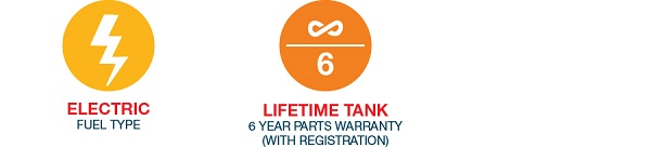 Rheem Marathon 50 Gal Lifetime Warranty Electric Water
