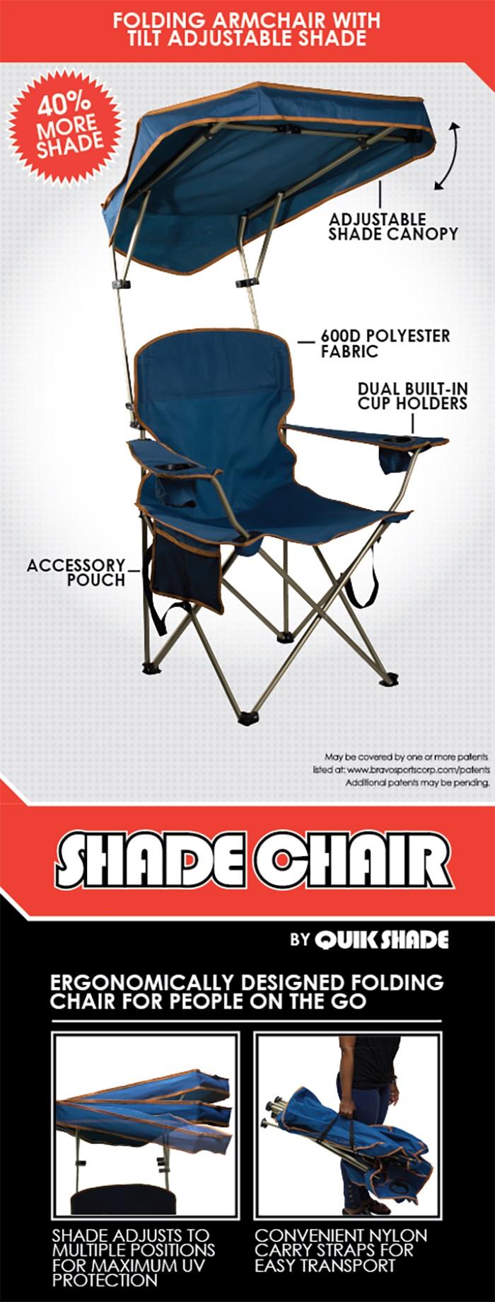 Canopy chair dimensions - Shade Chair