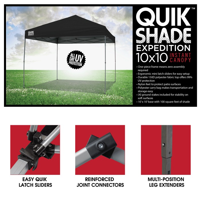 product overview - Instant Canopy