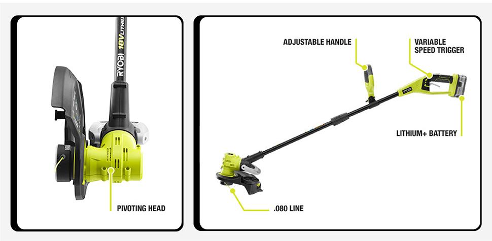 ryobi 18v line trimmer manual