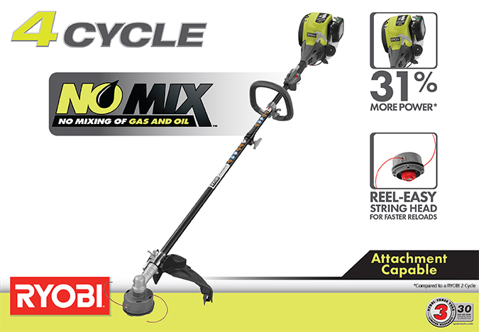 how to change string on ryobi weed trimmer