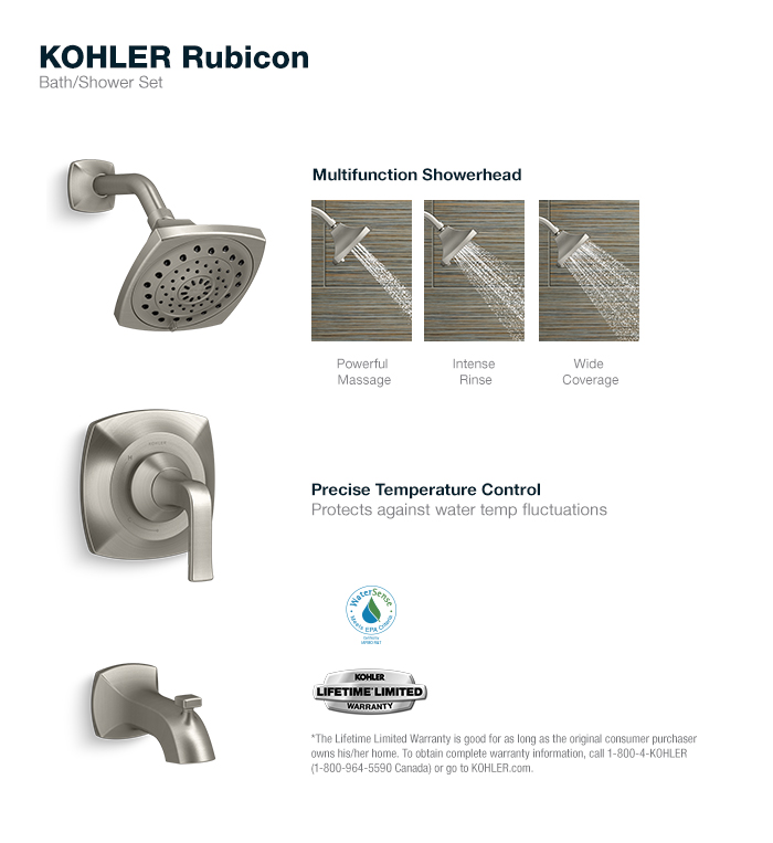 Kohler Shower Tub