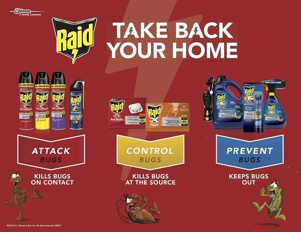 raid 1 5 oz concentrated deep reach fogger 3 pack 81595