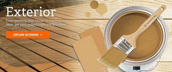 home depot 5 gallon interior paint home design and style. Black Bedroom Furniture Sets. Home Design Ideas