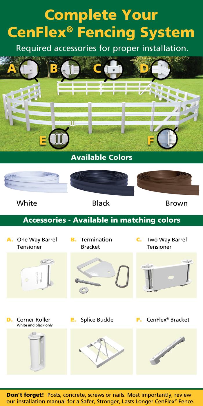 cenflex fencing fence system
