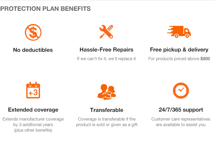 Home Depot Service Plan The Home Depot 3 Year Protection
