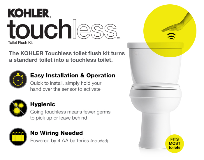 Kohler Touchless Flush Kit