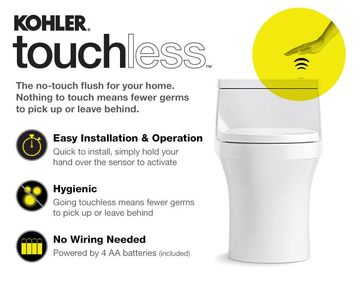 KOHLER San Souci Touchless Toilet