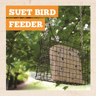 DIY Suet Bird Feeder Manual