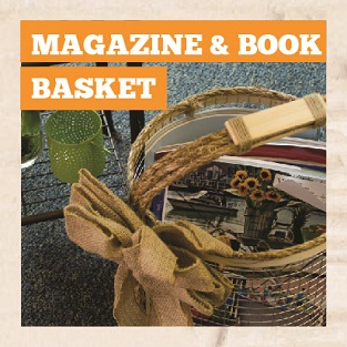 DIY Magazine and Book Basket Manual