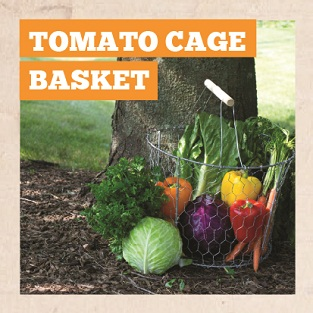 DIY Tomato Cage Basket Manual