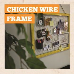 DIY Chicken Wire Frame Manual