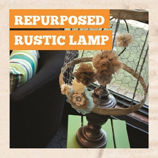 DIY Repurposed Rustic Lamp Manual