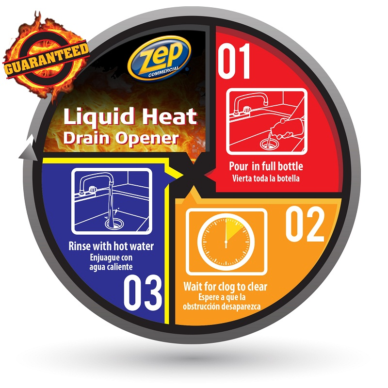 Liquid Heat Drain Opener