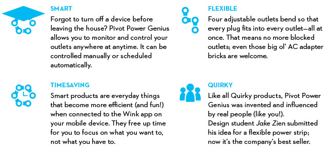 Wink Pivot Power Genius Surge Protector Features