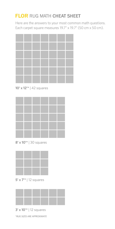 Flor like minded green 197 in x 197 in carpet tile 6 tiles flor rug size instructions baanklon Image collections